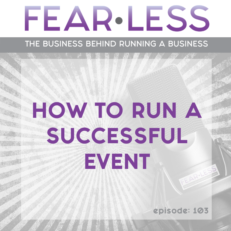 How to Run a Successful Event