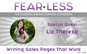 Writing Sales Pages That Work - Liz Theresa