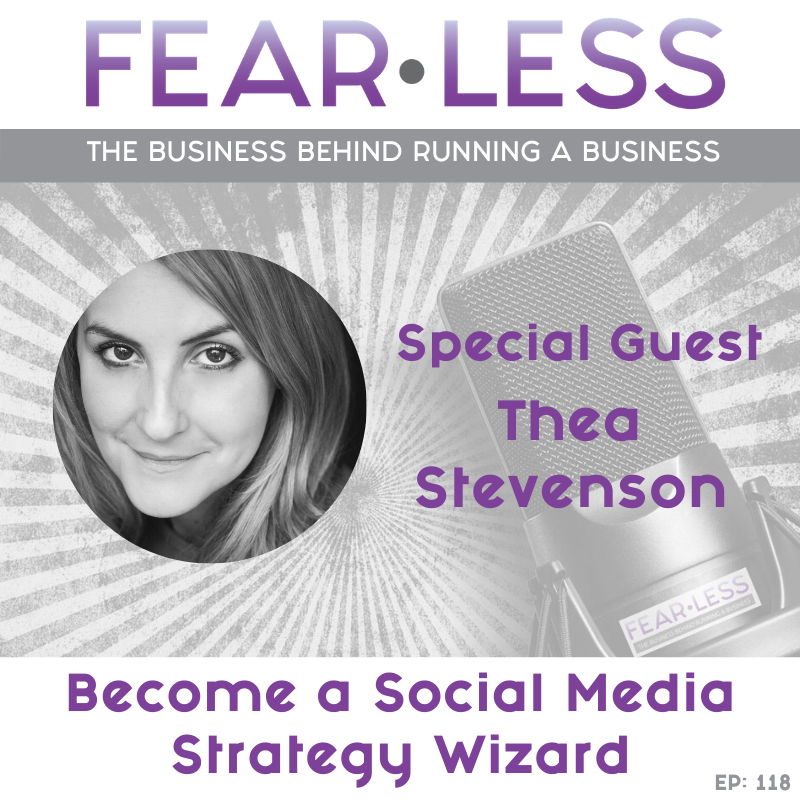 Become a Social Media Strategy Wizard - Thea Stevenson