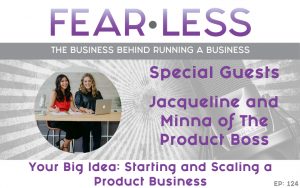 Jacqueline & Minna from the Product Boss