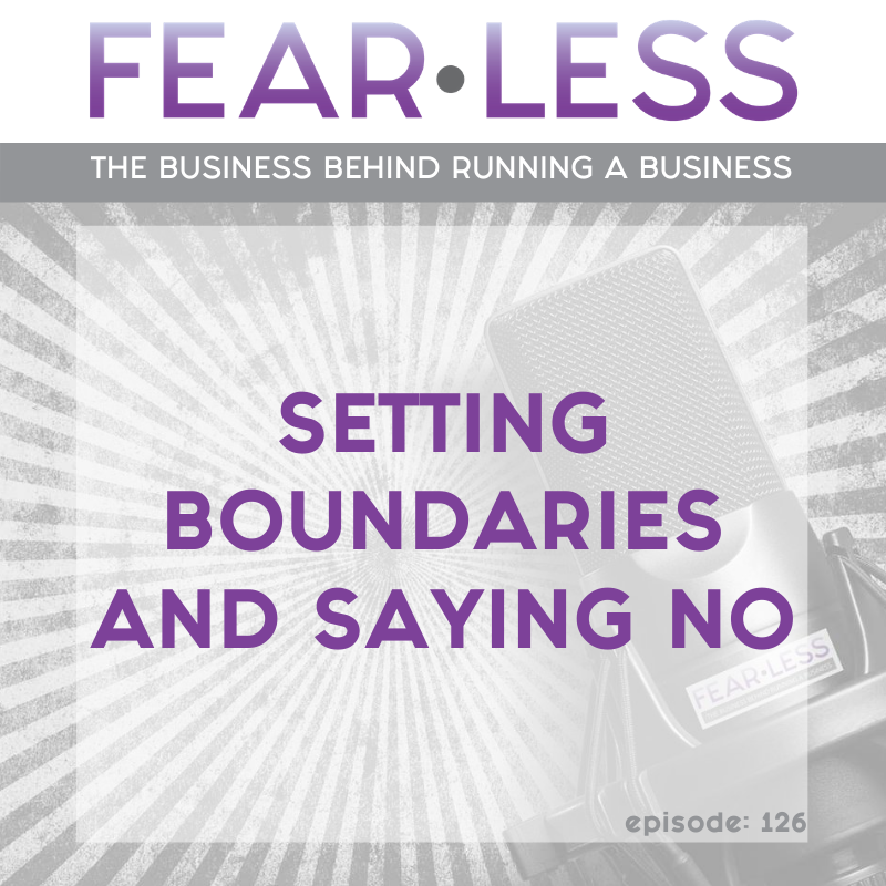 Setting Boundaries and Saying No