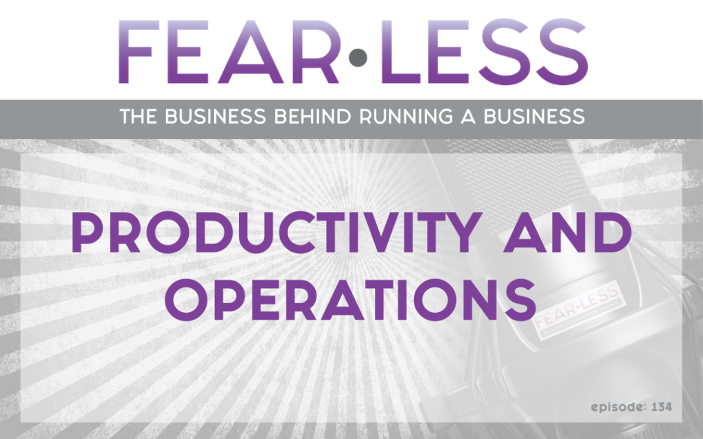 Productivity & Operations