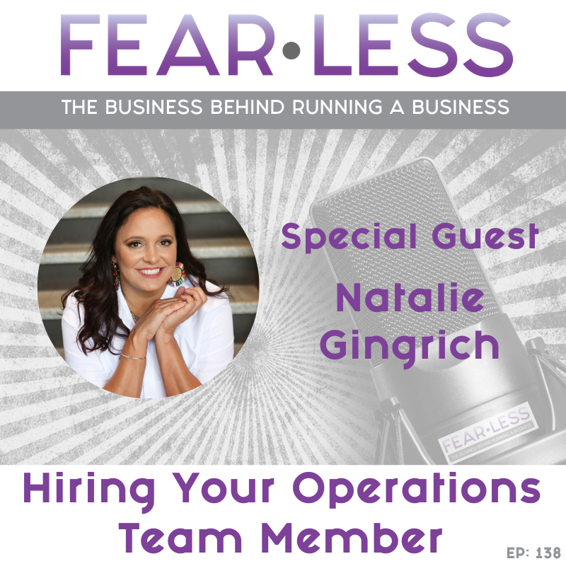 Natalie Gingrich - Hiring Your Operations Team Member
