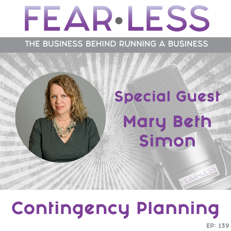 Mary Beth Simon - Contingency Planning