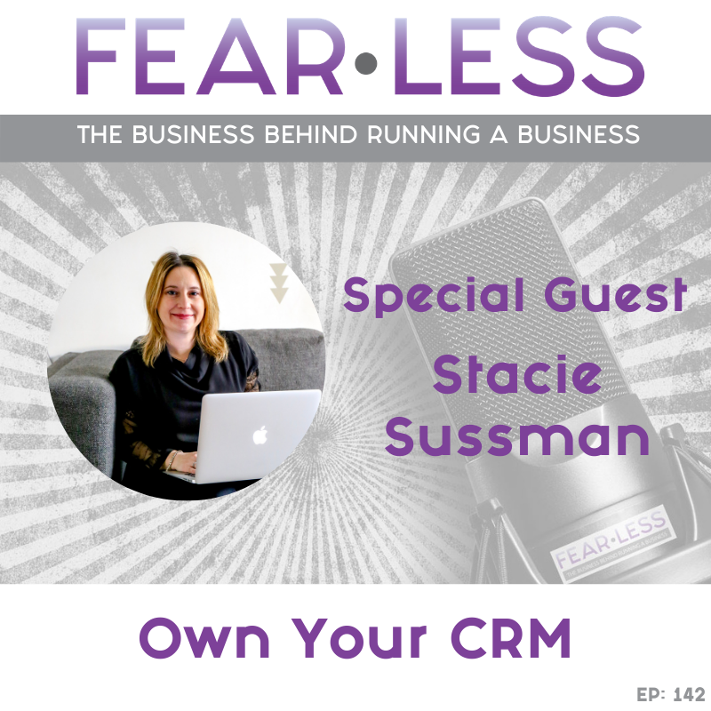 Stacie Sussman - Own Your CRM