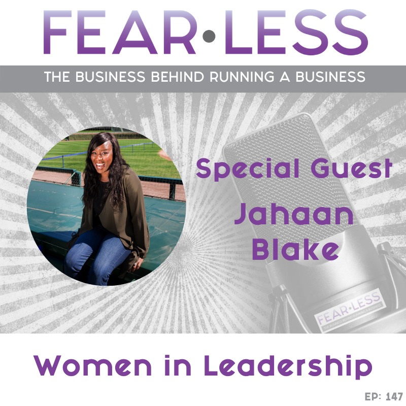 Jahaan Blake - Women in Leadership